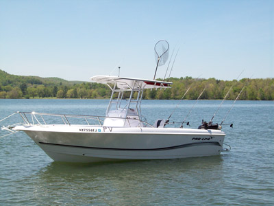 Cooperstown fishing charters for Lake fishing boats